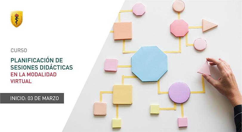 Planificación de sesiones didácticas en la modalidad virtual
